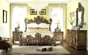 luxury king size bedroom furniture sets. Luxury Bedroom Sets King Size With Leather Headboard Palace Style Hand Carved Wooden Furniture
