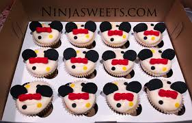 Mickey Mouse Themed First Birthday Cake Cookies And Cupcakes