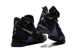 lebron purple shoes. cheap-nike-lebron-13-black-and-purple-gold- lebron purple shoes