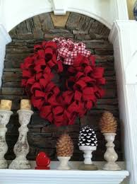 valentine wreaths for your front doorRed Burlap Wreath  Valentines Day  Mommy Blogs  Decorate Home