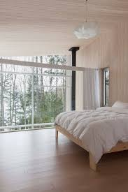 Quebec Bedroom Furniture Compact Retreat Flooded By Light In Quebec By Pierre Thibault