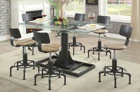 industrial dining furniture. Perfect Dining Intended Industrial Dining Furniture
