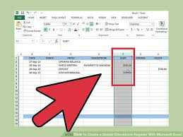 How To Make A Checkbook Register In Excel Excel Checkbook Register Magdalene Project Org