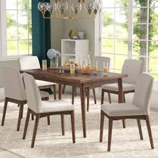 mid century modern dining room furniture. Lydia 7 Piece Dining Set Mid Century Modern Room Furniture C
