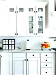 special placement of knobs on cabinets s9137681 shaker cabinet hardware placement installing style knobs and pulls