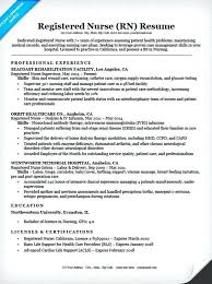 Registered Nurse Resume Examples New Registered Nurse Resume Sample Tyneandweartravel