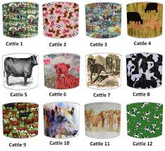 lampshades ideal to match highland cattle cow bedding sets duvets covers