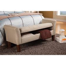 Bedroom Bench Storage Wildon Home Ar Upholstered Storage Bedroom Bench Reviews Wayfair