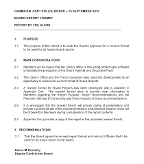 Short Business Report Sample Formal Business Report Template Structure Example Format
