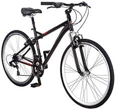 Schwinn Siro Comfort Hybrid Bikes Lightweight Aluminum Frame Front Suspension Fork Padded Seat 21 Speed Shimano Drivetrain And 700c Wheels Great