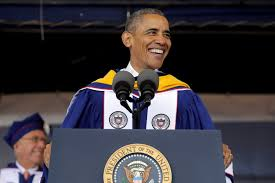 race relations have improved but work remains obama tells howard u s president barack obama smiles as he delivers the commencement address to the 2016 graduating class