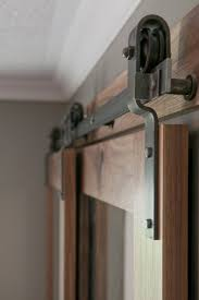 bypass door hardware. Closet Door Ideas, Sliding Door, Barn Closet, Curtains - Hardware -- Bypass Doors On A Single Rail.