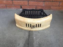 image of cast iron fireplace grate basket