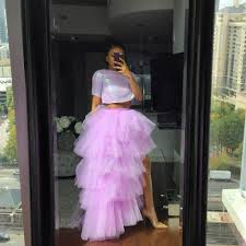Lavender Orchid tulle skirt | Tulle skirt, Skirts, Saree designs