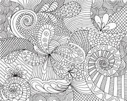 patterned coloring pages. Beautiful Patterned Printable Adult Coloring Pages  Coloring Page Printable Zentangle Inspired  Pattern By JoArtyJo On  Inside Patterned Pages P