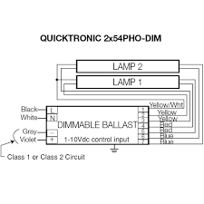 osram quicktronic ballast wiring diagram osram sylvania t5 ho 54w 2 lamp 277v helios dimming system mylightbulbs on osram quicktronic ballast wiring