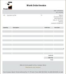 Free Invoice Template Microsoft Word 2010 Word Invoice Template