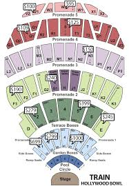 Hollywood Bowl Garden Box Seating Chart 38 Reasonable Holly Bowl Seating Chart