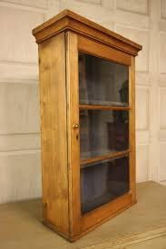 amazing glass wall cabinet georgian antique pine wine atla kitchen living room with lock design uk