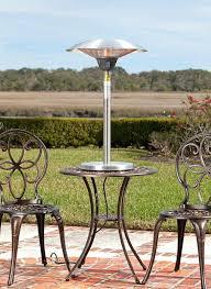 outdoor leisure patio tower heater ideas