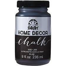 Small Picture Folk Art Home Decor Chalk Paint 8oz Java Folk Art Home Decor Chalk