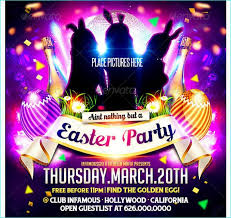 101 Best Easter Party Flyer Template Images On Pinterest
