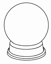 Small Picture Printable Snow Globe Coloring Page Get Coloring Pages