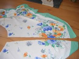 how to make a full circle skirt from tablecloth by minnie