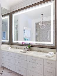 bathroom mirrors. Large Bathroom Mirrors Inspiration For A Timeless Master Beige Tile And Stone Slab Ceramic Wlfspcg