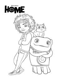 Movie Home Coloring Pages At Getcoloringscom Free Printable