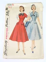 Retro Dress Patterns Unique Womens Vintage Dress Patterns At RustyZipperCom Vintage Clothing