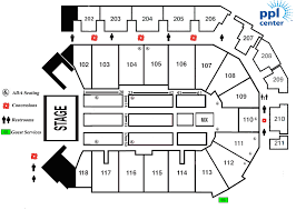 Ppl Center Allentown Pa Seating Chart Trans Siberian Orchestra