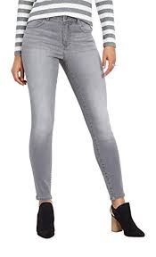 Maurices High Rise Skinny Jean Everflex Womens Gray