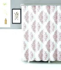 purple ruffle shower curtain blush image 1 pink ombre amethyst ruffled