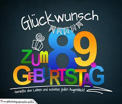 Sprüche Zum 89 Geburtstag Karte Mit Schönem Spruch Zum Nachdenken