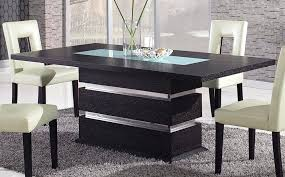glass pedestal dining table modern tables dinette furniture 42 round top modern dining table top view b35 view