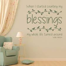 inspirational wall decal gratitude