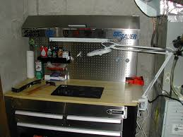 workbench lighting ideas. garage workbench design with drawers ideas lighting