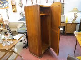 vintage antique furniture wardrobe walnut armoire. Vintage Antique Art Deco Walnut Armoire Wardrobe \u2013 $445 Furniture