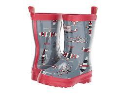 Hatley Kids Paper Planes Rain Boots Toddler Little Kid
