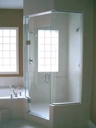 glass block windows in showers bathroom shower window with vent