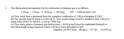 propane gas is as follows c3h8 g