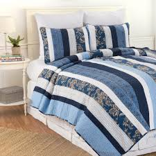 C & F Home Blue Lakeland F/Q Quilt Set