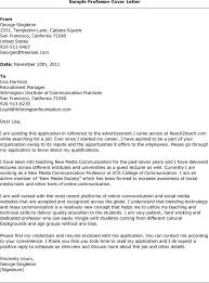 community college adjunct cover letter examples adjunct faculty cover letter