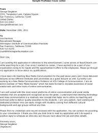 community college adjunct cover letter examples sample cover letter adjunct instructor