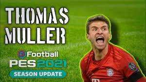 Thomas Muller PES 2021 / B-VANN - YouTube