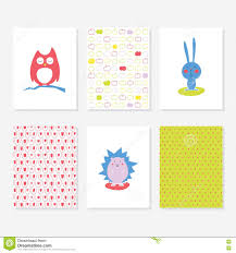 Apples To Apples Card Template Set Of 6 Cute Creative Cards Templates With Autumn Theme Design