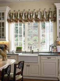 Window Valance For Kitchen Kitchen Accessories Wonderful Kitchen Window Treatments Curtains