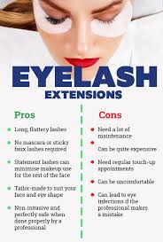 cons of getting eyelash extensions