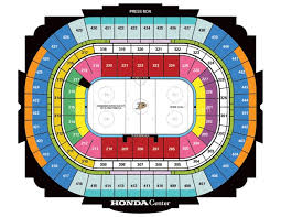 Anaheim Pond Seating Chart Honda Center Stadium Seating Chart Bedowntowndaytona Com
